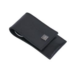 Маникюрный набор Erbe, 3 предмета, кожаный футляр, цвет черный 9189ER