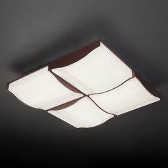 Светодиодный потолочный светильник Eurosvet Relief 90031/4 кофе