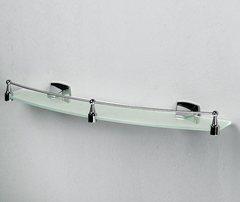 Wern K-2544 (ранее К-2524) Полка стеклянная с бортиком WasserKRAFT Серия Wern K-2500