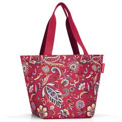 Сумка Shopper M paisley ruby Reisenthel ZS3067