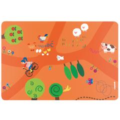 Коврик сервировочный детский On the Road оранжевый Guzzini 22606752OR