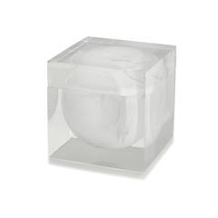 Косметическая емкость Kassatex Ducale White ADE-CJ-WB