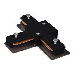 Коннектор Т-образный для однофазного шинопровода черный TRC-1-1-T-BK Elektrostandard