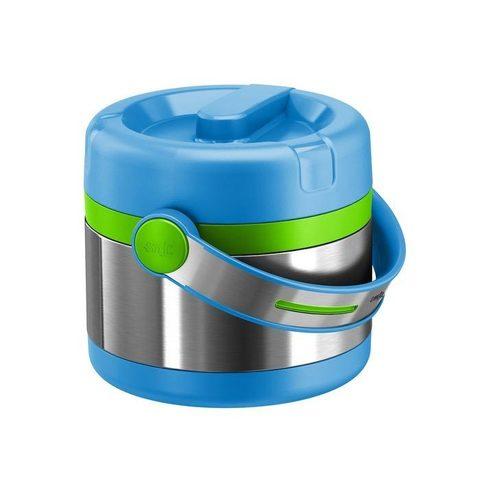 Термос для еды Emsa Mobility Kids (0,65 литра) голубой/зеленый