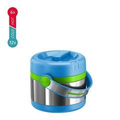 Термос для еды Emsa Mobility Kids (0,65 литра) голубой/зеленый 515862