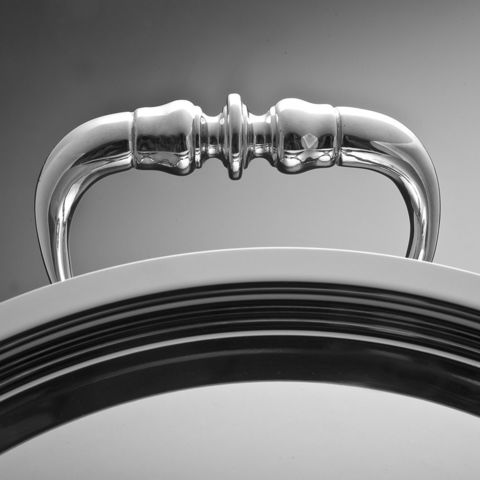 Сотейник 26см (5,0л), крышка с посеребренной декорированной ручкой, RUFFONI Opus Prima арт. C26 Ruffoni