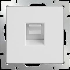 Телефонная розетка  RJ-11 (белая) WL01-RJ-11 Werkel