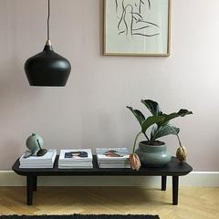 Лампа подвесная Cohen Small, черная матовая, черный шнур Frandsen 14416521001