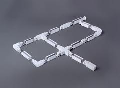 Гибкий коннектор для трехфазного шинопровода белый TRC-1-3-FLEX-WH Elektrostandard