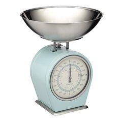 Весы кухонные механические  Living Nostalgia blue Kitchen Craft LNSCALEBLU