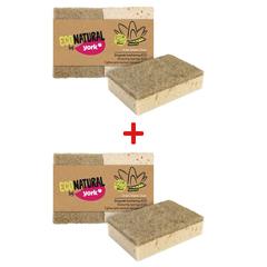 Комплект из 4 губок для посуды York Eco Natural