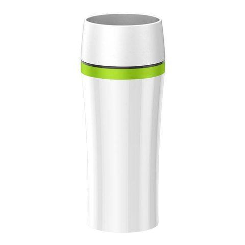 Термокружка Emsa Travel Mug Fun (0,36 литра) белая/зеленая 514176