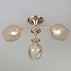 Потолочный светильник Eurosvet Gina 30120/3 золото