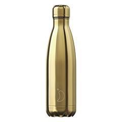 Термос Chilly's Bottles Chrome 500 мл Gold B500CHGOL