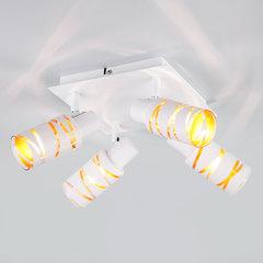 Потолочный светильник с поворотными плафонами Eurosvet Flute 20085/4 белый